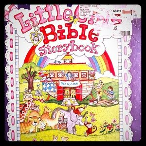 (1 Book) LITTLE GIRLS BIBLE STORYBOOK